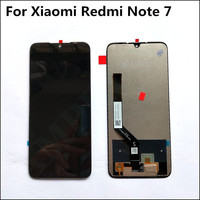 New 2340x1080 LCD Display Screen Assembly LCD Frame For Xiaomi Redmi Note 7 Battery Cover Phone Replacement Of Parts