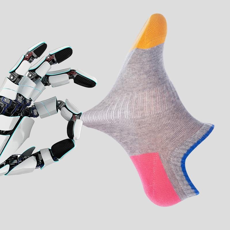 τClearance SaleLANGSHA Boat Socks Anti-Bacteria Cotton 4pairs/Lot Casual Breathable Summer Fashion‡