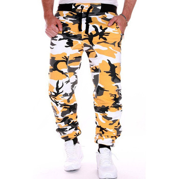 ZOGAA 2020 Hip Hop Men Comouflage Trousers Jogging Fitness Army Joggers Military Pants Clothing Sports Sweatpants Hot Sale