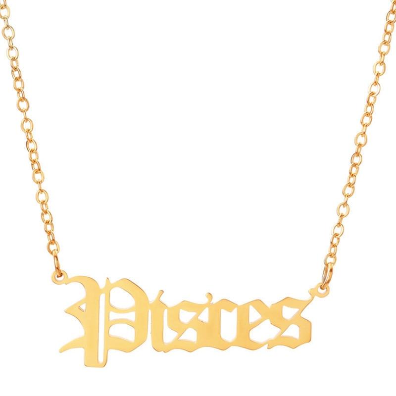 Gold Pisces