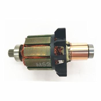 Motor de armadura para MAKITA DDF456Z DF456D DDF456RFE3 BDF456RFE DDF456 BHP456 BDF456 DDF456RME DHP456 619263-3 619287-9 DC18V