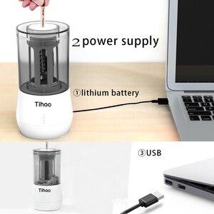 Image 5 - Tenwin القرطاسية التلقائي المهنية Eelectric براية أقلام USB Tenwin الثقيلة الفن رسم تعمل مكتب المدرسة