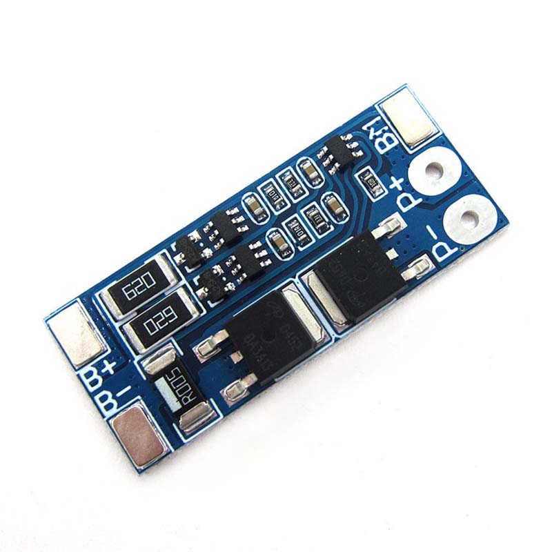 BMS 2S 8.4V 7.4V 8A 18650 Lithium Battery Charge Protection Board 18650 Equalizer Balanced BMS Charging PCB Module Overcharge