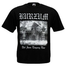 T-shirt 1BURZUM1 Det Som Engang Var New different size. Norwegian music project(China)