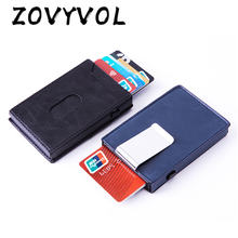 Модный умный кошелек zovyvol из искусственной кожи с rfid защитой