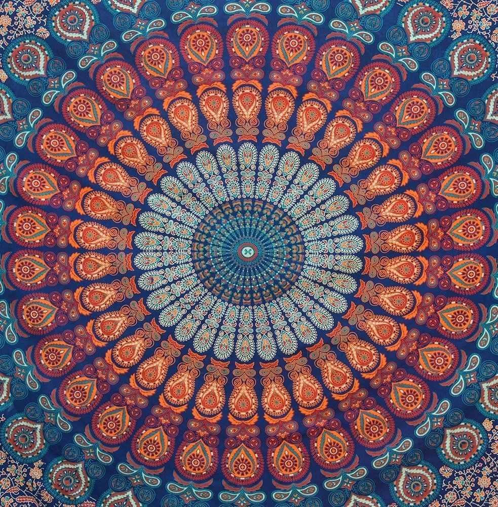Mandala tapeçaria mandala indiano tapeçaria tapeçaria de parede toalhas de mesa cobre hippie boho praia toalha arte da parede quarto decoração de casa tap214