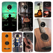 Piano Guitar Music Phone Case Cover For Motorola Moto G8 G7 G6 G5S G5 G4 E6 E5 E4 X4 Play Plus Power + One Action Coque