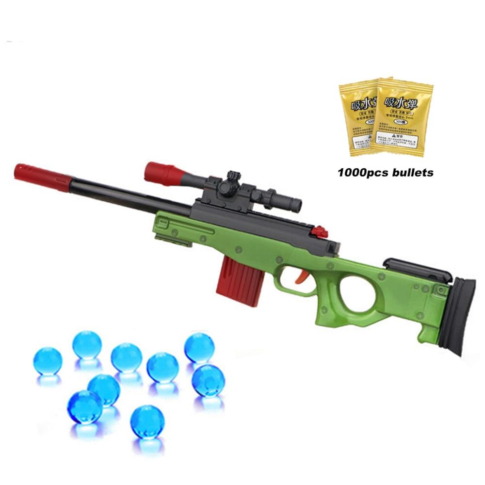 Plastic Mini AWM Gun Toys Pistol Rifle Children Plastic Airsoft Air Guns Model For Boys CS Games Educational Toy For Children