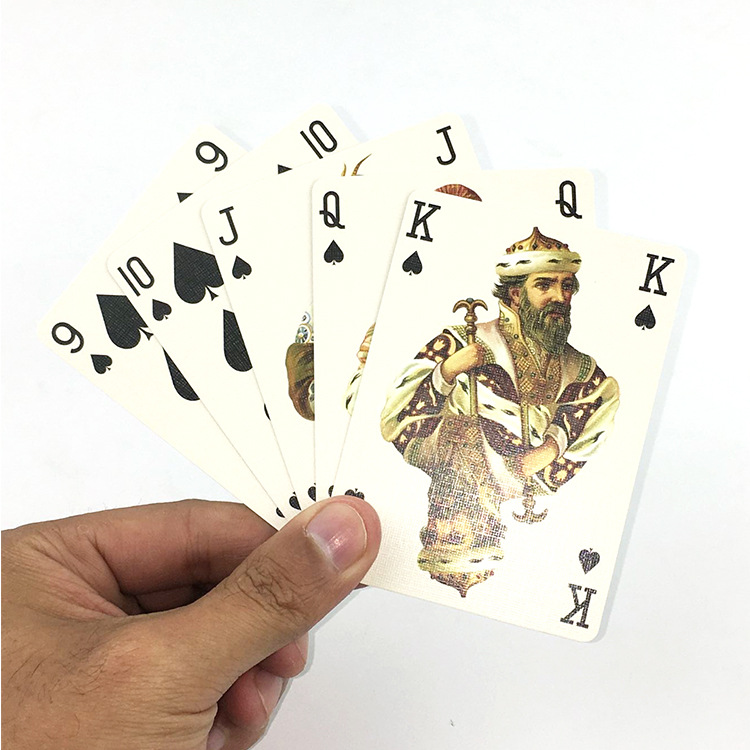310-germany-import-black-heart-paper-playing-cards-las-vegas-club-font-b-poker-b-font-advertisement-font-b-poker-b-font-customizable