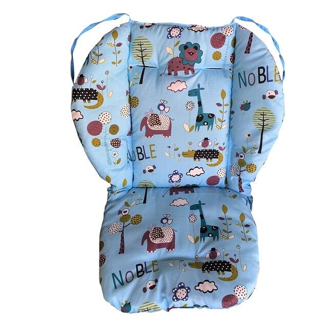 Impresión de estrellas cochecito de bebé Universal asiento de silla alta cojín Liner Mat carro colchón Mat Silla de alimentación almohadilla cubierta Protector