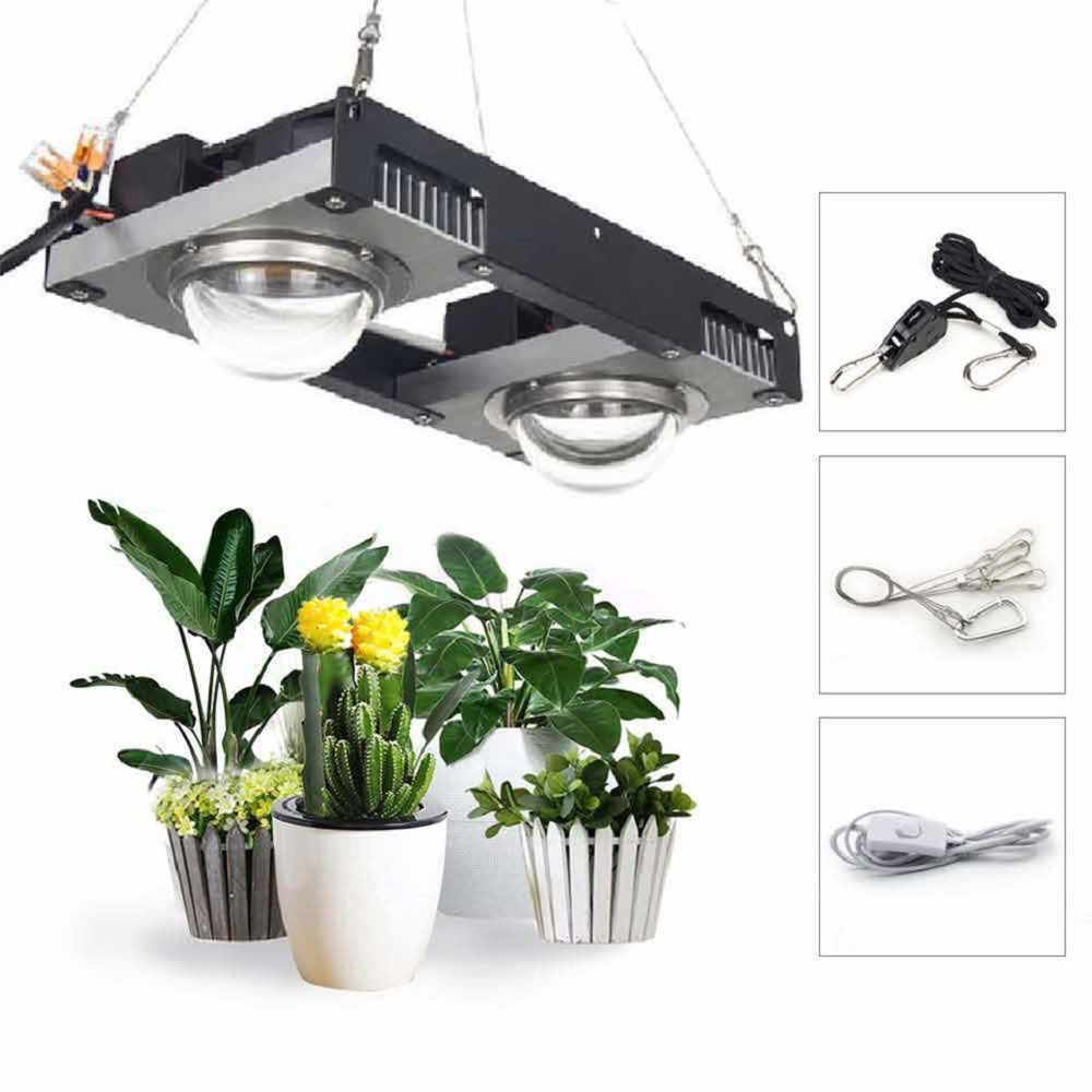 COB LED Grow Light Full Spectrum CREE CXB3590 Vero29 Citizen 1212 200W Growing Lamp Indoor Plant Growth Panel Lighting