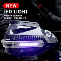 Motorcycle Handguard Hand Guard with LED For yamaha mt 125 yamaha ybr 125 parts bmw r nine t honda cb 500x honda transalp 650