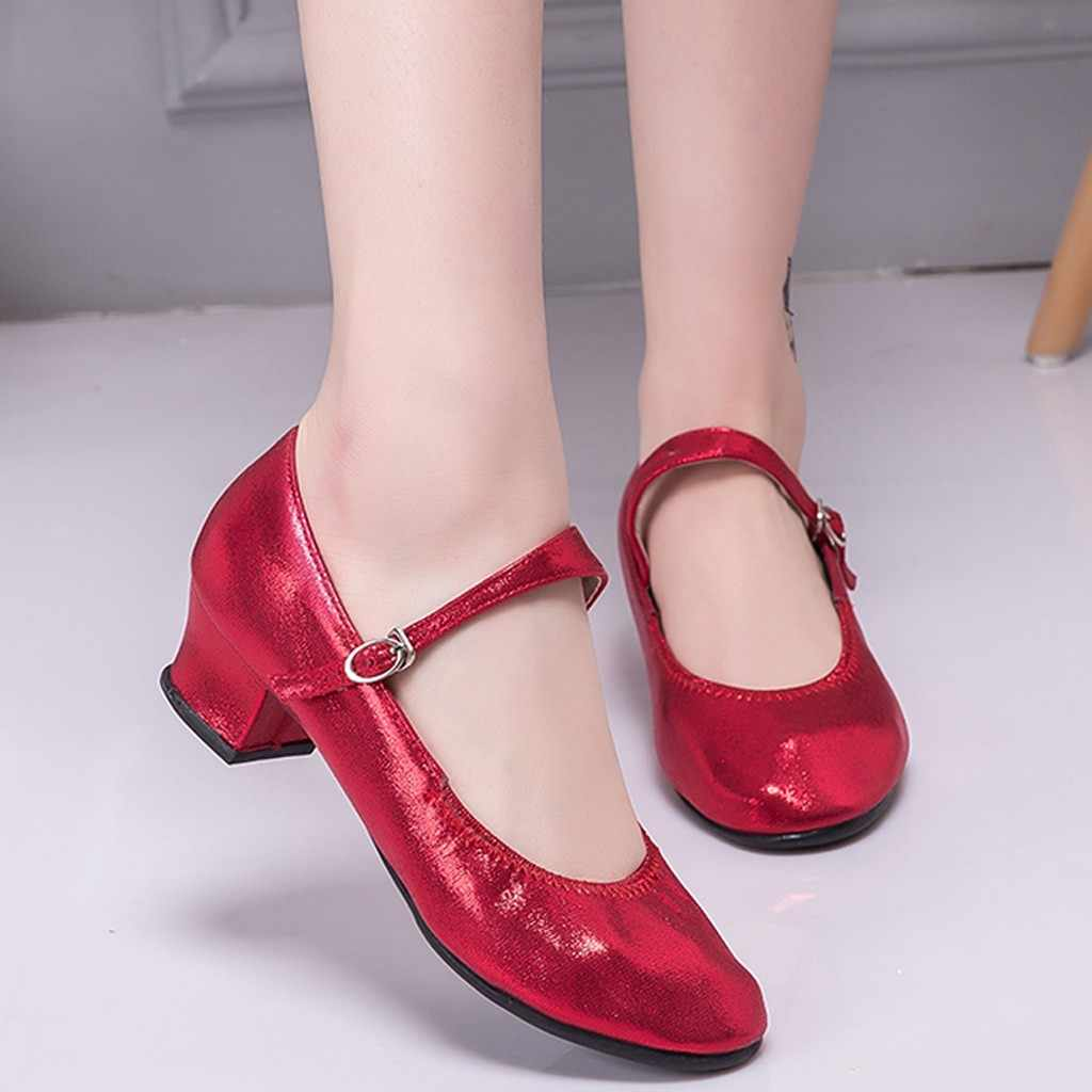 Sapatos femininos grils dança moderna sapatos de dança de salão latina sapatos de dança para a moda feminina novos sapatos de lazer ao ar livre alta qualidade