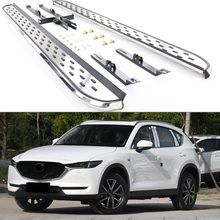 Fit for Mazda CX-5 2017-2020 Screw Bolt Running Boards Side Step Bars