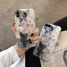 IMIDO Grey Painting Graffiti New Anti-fall Fashion Phone Cases Water Pasting PC Case For Huawei  p20 pro p30