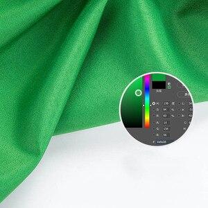 Image 4 - צילום רקע רקע חלק מוסלין כותנה ירוק מסך Cromakey בד רקע תמונה סטודיו וידאו תמונה