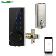 TT Lock Bluetooth Deadbolt Fingerprint Door Lock Smart Card codice digitale elettronico per la sicurezza domestica mortasa Smart Home
