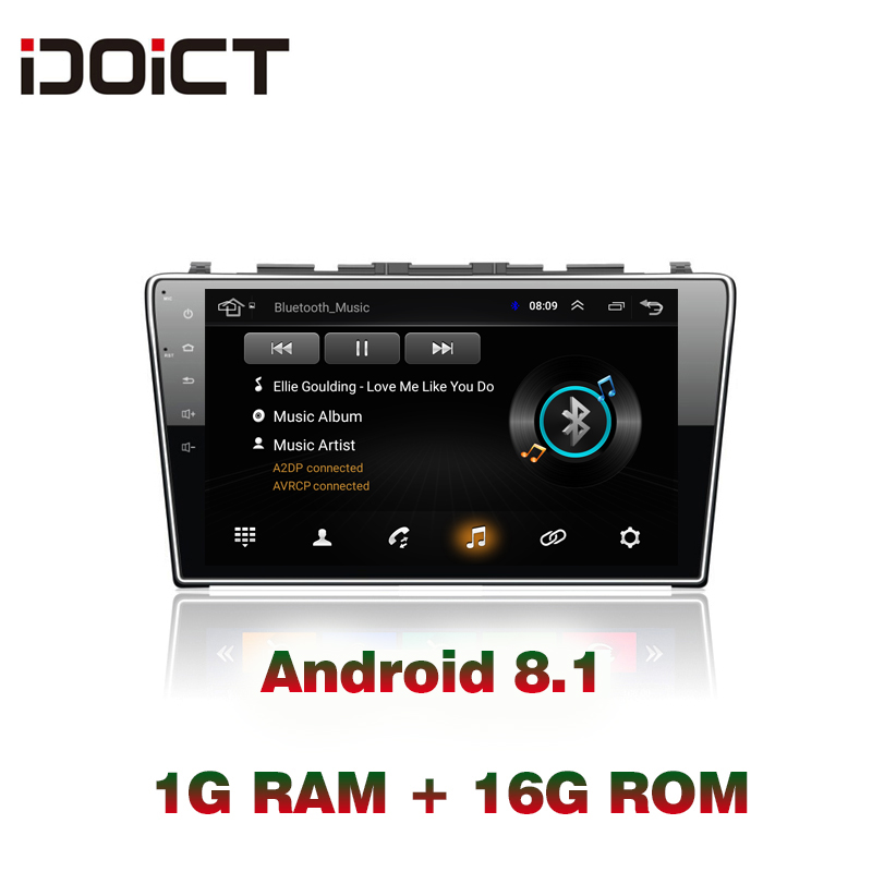 IDOICT Android 8.1 Car DVD Player GPS Navigation <font><b>Multimedia</b></font> For <font><b>Honda</b></font> <font><b>CRV</b></font> Radio 2008 2009 2010 <font><b>2011</b></font> car stereo wifi image