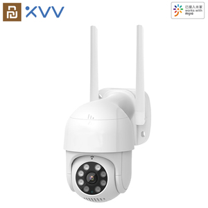 Xiaovv P1 IP Camera 270° PTZ 1080P MiHome APP Dome Webcam 2MP WiFi Security Outdoor Waterproof Surveillance CCTV Camera