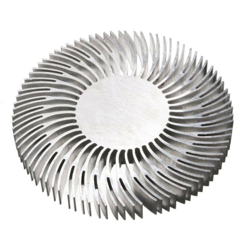 Hot LED Radiator 90mm X10mm Round Mountable Aluminum Heat Sink Cooling For 10W LED Heatsink Light Radiator