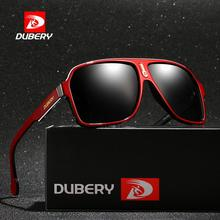 DUBERY Vintage Sunglasses Polarized Men's Sun Glasses For