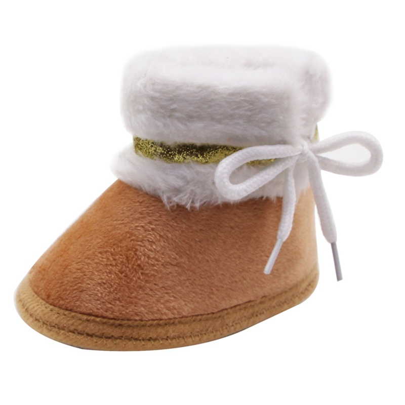 Baby Shoes Autumn Winter Baby Boy Girl Warm shoes infants warm shoes Faux fur girls baby booties Cotton 11