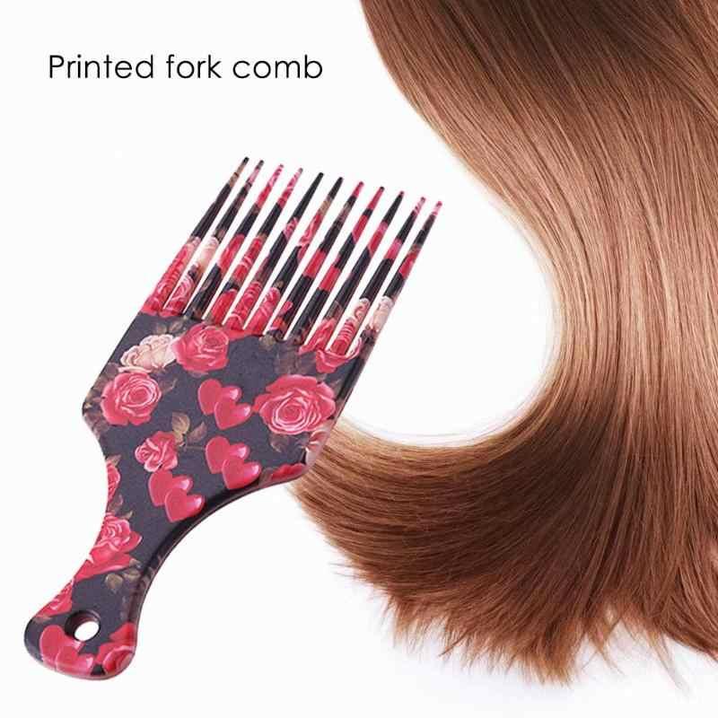 Pro Rambut Sisir Salon Gunakan Insert Rambut Keriting Rambut Sikat Gigi Lebar Pijat Sisir Sikat Rambut Styling Alat untuk Pria wanita