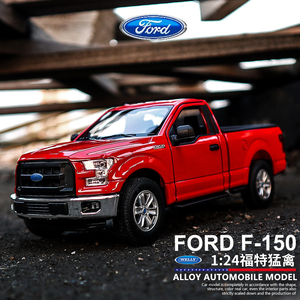 WELLY 1:24 Ford F-150 pickup truck car alloy car model simulation car decoration collection gift toy Die casting model