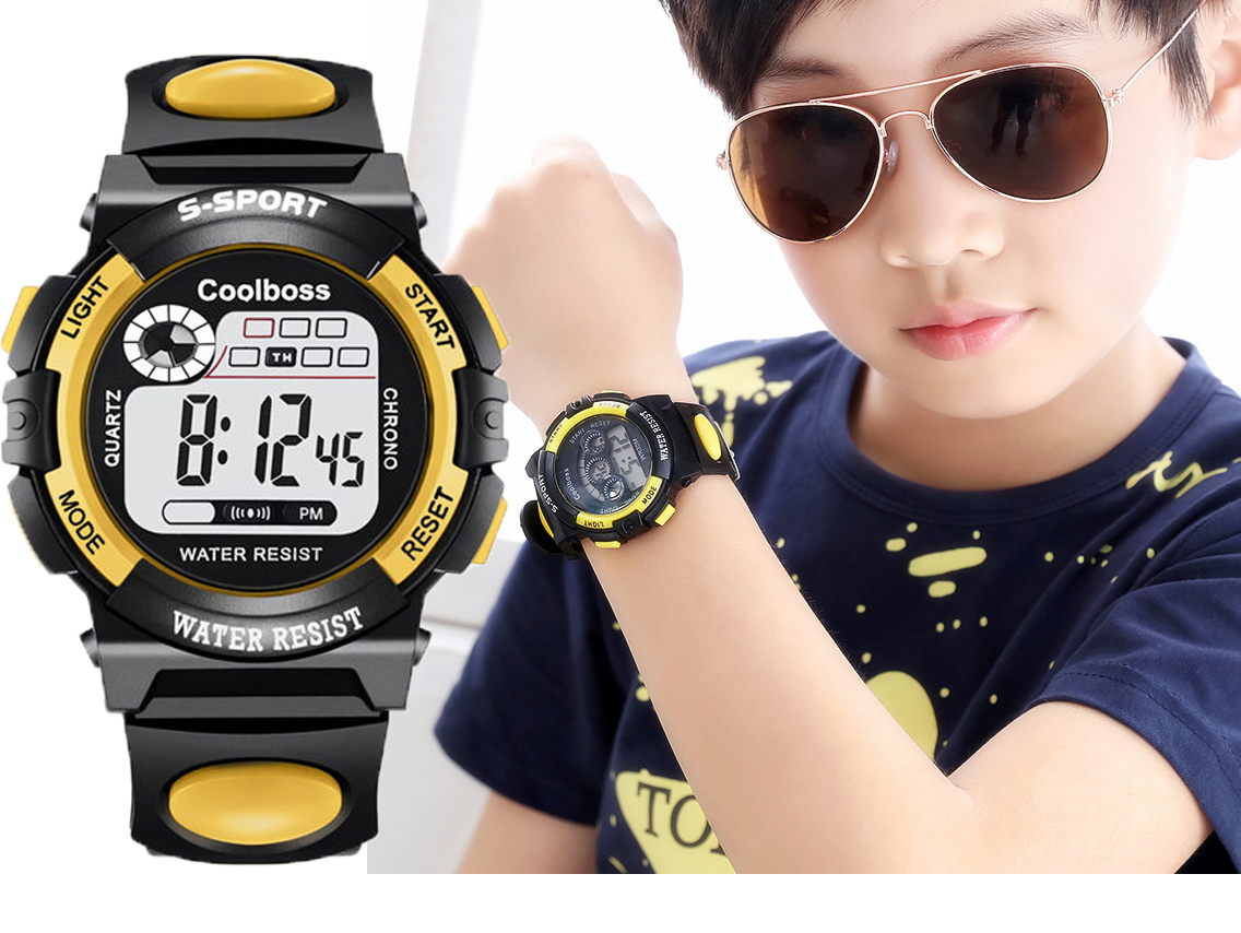 Children Watch Sport Kids Watches Silicone Strap Waterproof LED Digital Watch For Kid Children Student Girl Boy Wristwatch Clock