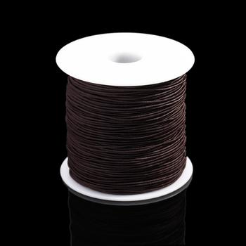 7m/bag 1mm Round Elastic Cord Beading Stretch Thread/String/Rope for Necklace Bracelet Jewelry Making Supply 8