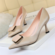 Women Office Shoes Black High Heels Blue Shoes Women Extreme High Heels Black Pumps Women Shoes Fetish High Heels Big Size 43