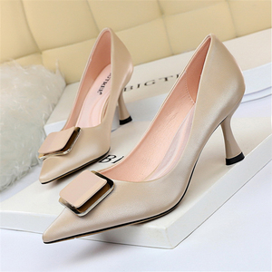 Image 1 - Women Office Shoes Black High Heels Blue Shoes Women Extreme High Heels Black Pumps Women Shoes Fetish High Heels Big Size 43