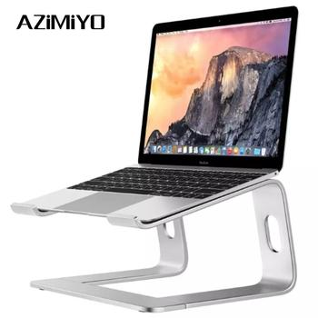 AZiMiYO Alluminio Supporto Laptop Staffa di Raffreddamento Per Notebook Per MacBook Portatile Supporto Laptop chromebook Computer Portatile accessori AZiMiYO OnLine Store