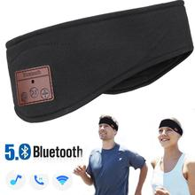 JINSERTA Bluetooth Headband Sleep Headphones Wireless Music Sport Earphones Stereo Headsets with Long Time Play for Travelling