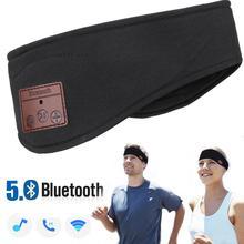 JINSERTA Bluetooth Kafa Bandı Uyku Kulaklıklar Kablosuz Müzik Spor Kulaklık stereo kulaklıklar ile Uzun Süre Seyahat için