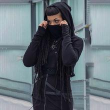 Толстовки в стиле Харадзюку для девочек уличная одежда панк