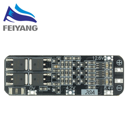 10pcs 3S 20A Li-ion Lithium Battery 18650 Charger PCB BMS Protection Board 12.6V Cell Module 59x20x3.4mm