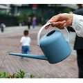Vintage PP Bonsai Watering Can Pot, 1800ml Gardening Long Spout Watering Pot Small Watering Kettle