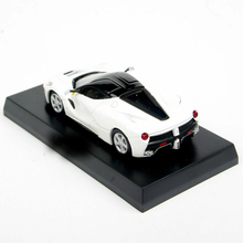 1/64 Scale KYOSHO White LaFerrari Diecast Model Car Collection Vehicles Toys 1 64 scale kyosho japan super gt jgtc nissan calsonic skyline gtr motul pitwork fairlady z nismo 2003 2004 diecast model toy car