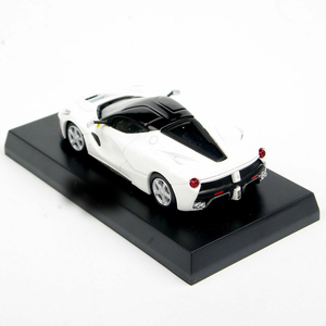 1/64 Scale KYOSHO White LaFerrari Diecast Model Car Collection Vehicles Toys(China)