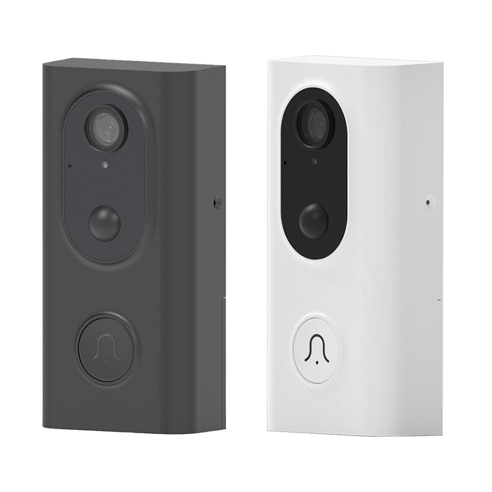 Smart WiFi Video Doorbell Camera Night Vision Visual Intercom With Chime