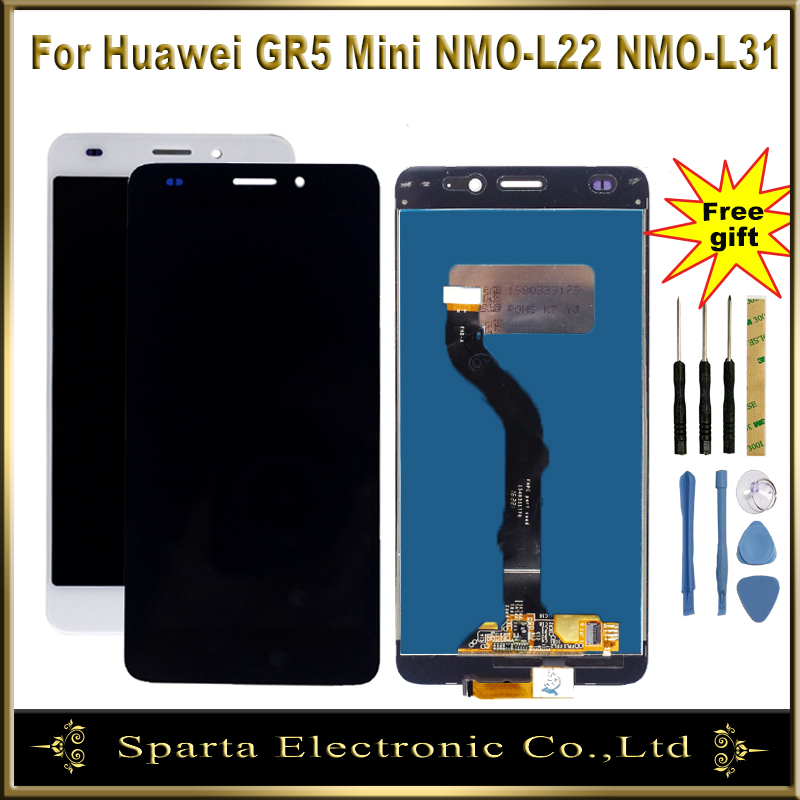 Sparta LCD For Huawei GR5 Mini LCD Display Touch Screen Assembly Digitizer For Huawei GT3 NMO-L22 NMO-L31