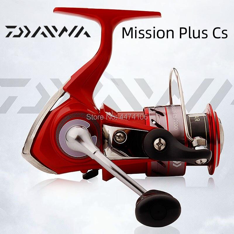 daiwa mission plus cs 2000 s 2500 s 3000 s 4000 s fiacao carretel de pesca