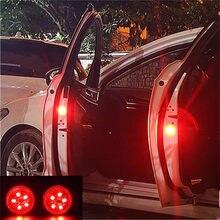 2 stücke LED Auto Tür Öffnung Warnung Lichter für Toyota Corolla iM E170 E140 E150 3 Mark 2 Mark X matrix 1 2 Platz Premio