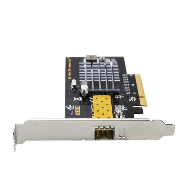 Один Порты и разъёмы PCI-E 10 гигабитный сетевой карты RJ45 Порты и разъёмы s Lan Интерфейс карты с 82599 10/100/1000/10000 Мбит/с