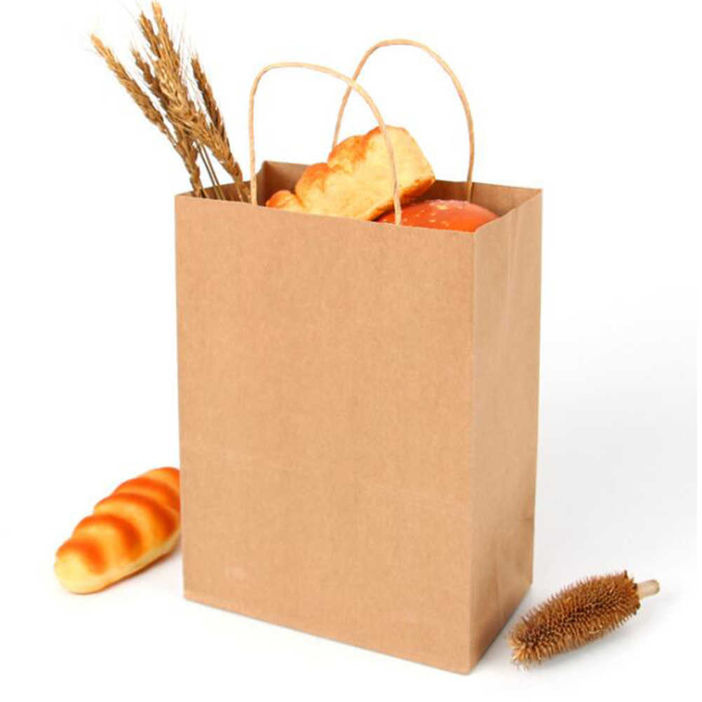패션 갈색 종이 쇼핑 가방 고품질 에코 친화적 인 토트 백 여성 선물 핸드백 종이 주머니 재사용 쇼핑 가방