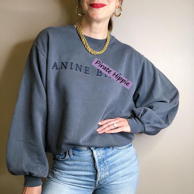 Letter Embroidered Sweatshirt Women Autumn Winter Puff Sleeve O Neck Cotton Pullover Casual Vintage Street Style Hoodie 2020 1