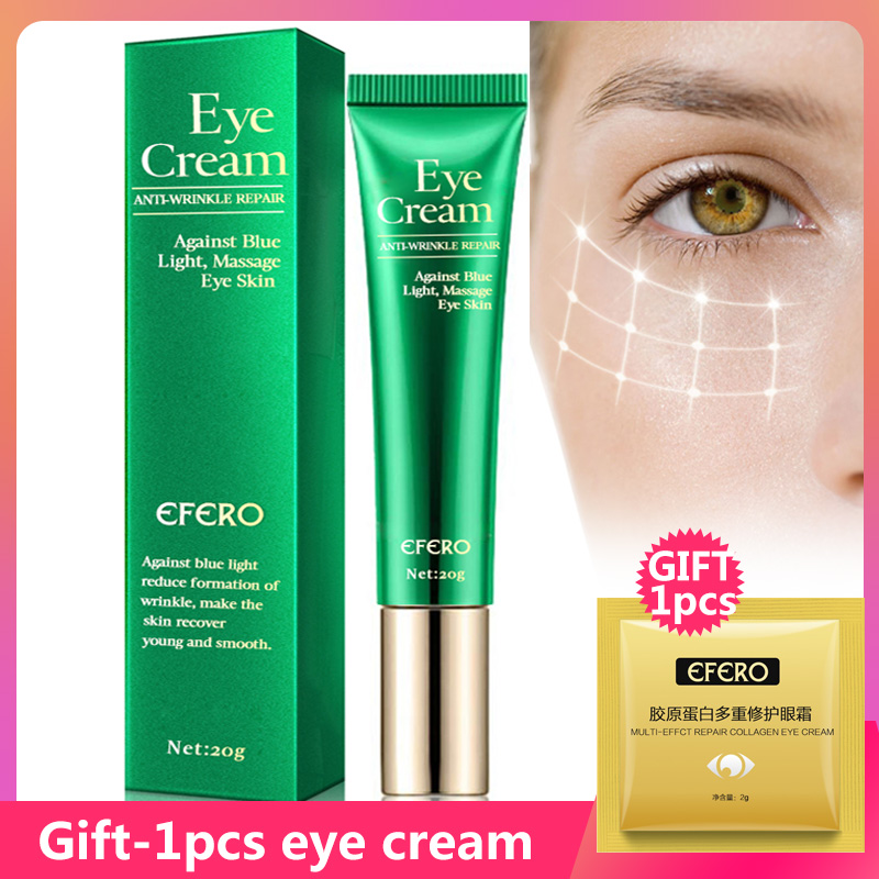 EFERO Anti-Wrinkle Eye Cream Against Blue Light Remove Dark Circles Lightening Eye Cream For Eyes Care Anti-aging Eye Creams