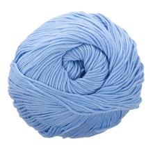 50 г Тенсел бамбуковая хлопчатобумажная пряжа для ребенка(светильник синий