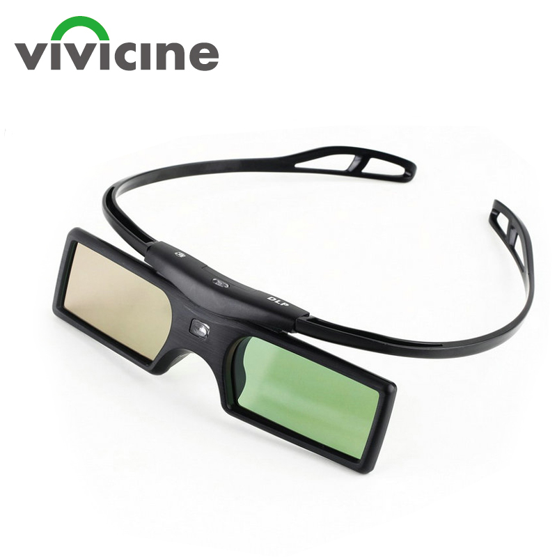 Universal DLP Active Shutter 3D Glasses 96-144Hz For XGIMI Optoma Acer Benq Viewsonic Vivicine Home Theater Projector 3D TV